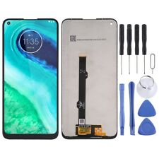 For Motorola Moto G8 LCD Screen Touch Digitizer Replacement Glass Assembly Black