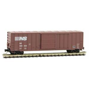 Z Scale - MICRO-TRAINS LINE 510 00 462 NORFOLK SOUTHERN 50' Rib Side Box Car