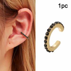 Fashion Rainbow Boho Classic Minimal Charming Earrings Clip On  Women Jewelry