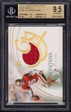 """2003 Joe Montana Ultimate Collection """"Ultimate Game Jersey"""" /99 BGS Gem Mint 9.5"""