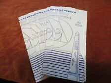 Rosicrucian Order Master Monograph Plane Three, monograph 10 to 21 11 missing  B