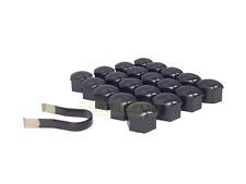 SAAB NG 900 93 9-3 95 9-5 17MM GENUINE WHEEL BOLT BLACK COVERS & TOOL SUFFOLK