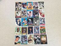 HALL OF FAME Baseball Card Lot 1978-2020 LOU BROCK TOM SEAVER WILLIE MAYS