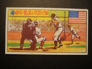 SPORTS OF COUNTRIES #11 AMERICAN BASEBALL BABE RUTH GREATEST USA PLAYER USA
