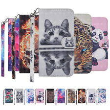 For Xiaomi Note 5 Plus 8 Lite Phone Case 3D PU Leather Flip Wallet Stand Cover
