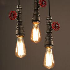 LOFT Retro Vintage Deckenlampen Pendelleuchte Hängeleuchte Lampe Leuchte Rohr