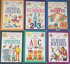 ✨Sale Joblot 6 Book-first Reading Library children,number,alphabet, pre-school