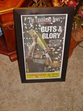 UNIVERSITY OF ALABAMA ORIGINAL FRAMED NEWSPAPER 2015 NCAA FOOTBALL CHAMPIONS
