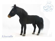 Black Stallion Plush Soft Toy Horse by Hansa Sold by Lincrafts 3522 SALE
