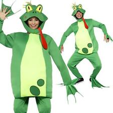 Adult's Men's Women's Frog Prince Funny Animal Fancy Dress Costume Stag Book Day