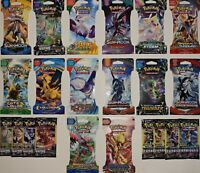 Nice Lot of 22 Assorted Authentic Pokemon 3 Card & 10 Card Booster Packs - NEW