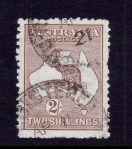 Kangaroo Used - 3rd Wmk 2/- Brown SG 41