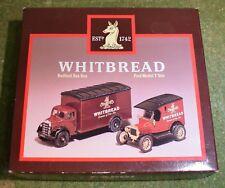 DIE CAST CORGI CLASSICS D94/1 WHITBREAD BEDFORD BOX VAN & FORD MODEL T VAN