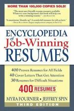 Encyclopedia of Job-Winning Resumes, Fournier, Myra, 1564148718, Book, Good