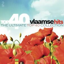 2 CD  - TOP 40 VLAAMSE HITS - HIS ULTIMATE TOP 40 COLLECTION  (NEW / SEALED) *