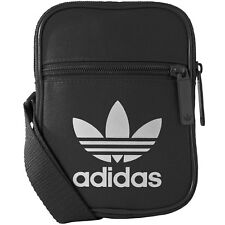 8089dd2ceb68 adidas Festival Bag Trefoil Shoulder Bag Small Black BK6730