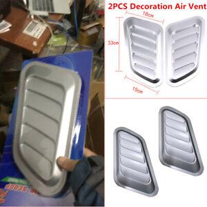 Autos Roof ABS plastic Decorative Air Flow Intake Hood Scoop Vent Bonnet Cover