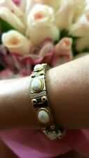 Bracelet Swarovski White Silver adjustable bracelet 2.5ct Handmade Gold Jewelry