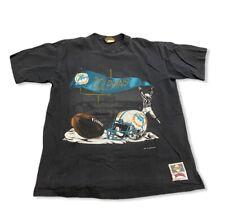 Miami Dolphins Vintage 1993 90's Nutmeg T-Shirt Men's sz M NFL Football Marino