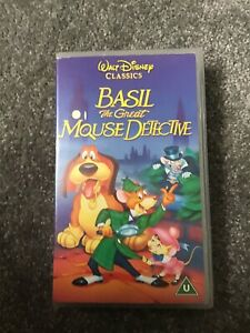 Disney's The Great Mouse Detective VHS