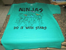 "Teenage Mutant Ninja Turtles T-Shirt - Green - Medium ""Do It With Stars"""