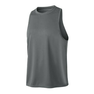 Mens Workout Gym Running Training Tank Tops Sleveless Sweat Wicking Breathable