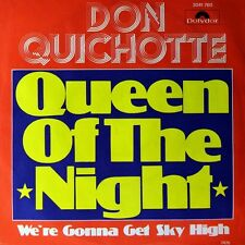 """7"""" DON QUICHOTTE Queen Of The Night COLIN SOLMAN 45rpm POLYDOR Glam-Rock D 1976"""