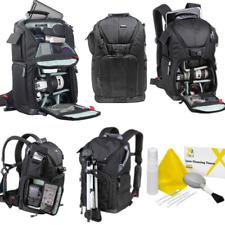 Vivitar DKS-25 PHOTO/SLR/LAPTOP SLING BACKPACK (20 x 12 x 9) + PRO CLEANING KIT