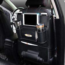 Car Auto Back Seat Organizer iPad Holder Multi-Pocket Storage Bag Travel Hanger