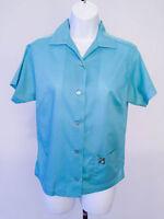 Vintage Hilton Bowling Shirt - Blue - Killeen, TX - Size 34
