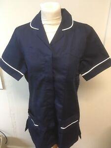 Navy Ladies Tunics Nurse , Vets , Care Assistant , Beauticians Uniforms