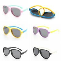 Children Kids Classic Polarized Sunglasses Boys Girls UV400 Teen Cycling Glasses
