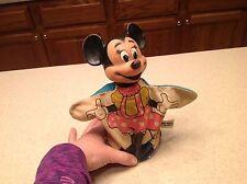 Vintage Disney 1960's Minnie Mouse Hand Puppet Japan Vinyl Toy Disneyana