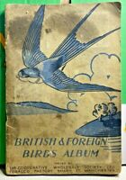 British & Foreign Birds Album-1938-Original Set-Cigarette Cards-Incomplete-1miss