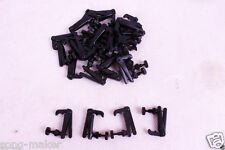 30 pcs Fine Tuners String Adjuster Black Color Nice quality 3/4 violin parts