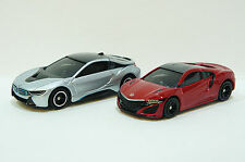 TOMICA~ No.17 BMW i8 + No.43 HONDA NSX Two Cars ~   Free Shipping