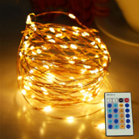 20M 30M 50M Remote Control Led Copper String Starry Light Christmas Fairy Lights