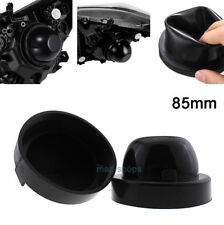 2Pcs Rubber Headlight Housing Extended Dust Cover Boot Cap For 2015-2017 F150