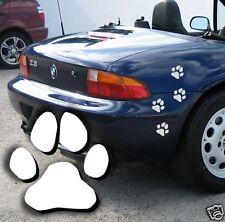Pfotenaufkleber Autoaufkleber Fensterbild Wandtattoo Hundepfoten Dekoaufkleber