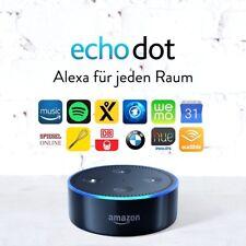 Amazon echo Dot Alexa-controlados altavoces 2.gen. WiFi app Black nuevo!