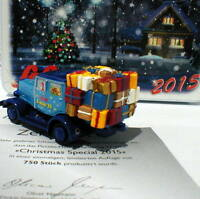 "Schuco 01614 series Piccolo, Hanomag ST 100 ""Christmas Special 2015""  in tin box"