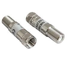 F Connector Attenuator - Choose from 3dB, 6dB, 10dB, 12dB, 20dB