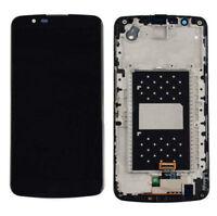 LG K10 K410 K420N K428 K430 K430DS K430DSF LCD Screen Digitizer & Frame Black