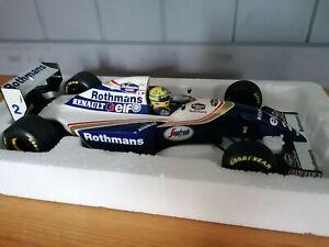Ayrton Senna Williams Fw16 1994 Rothmans original factory ver 1:18 Minichamps
