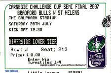 Bradford Bulls Rugby League Tickets & Stubs