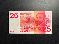 NIEDERLANDE / NETHERLANDS 25 GULDEN 1971 P-92b aUNC