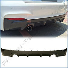 3D Look Carbon Fiber Rear Diffuser For 2014On F22 220i 228i M235i M-Tech Bumper