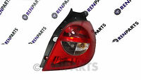 Renault Clio III PH1 2006-2009 OSR UK Driver's Side Rear Tail Light Lens Lamp