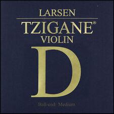 Larsen Tzigane Violin D String Medium Tension 4/4 Full Size