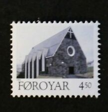 Christmas stamps, 1996, church, altarpiece Faroe Islands, SG ref: 318 & 319, MNH